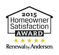 2015 Homeowner Satisfaction Award
